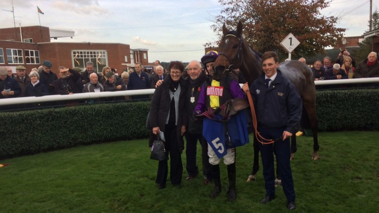 Mia's Storm could be bound for the Kauto Star Novices' Chase on Boxing Day