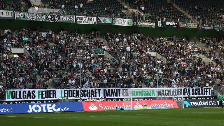 Borussia Monchengladbach fans aren't known for their brevity