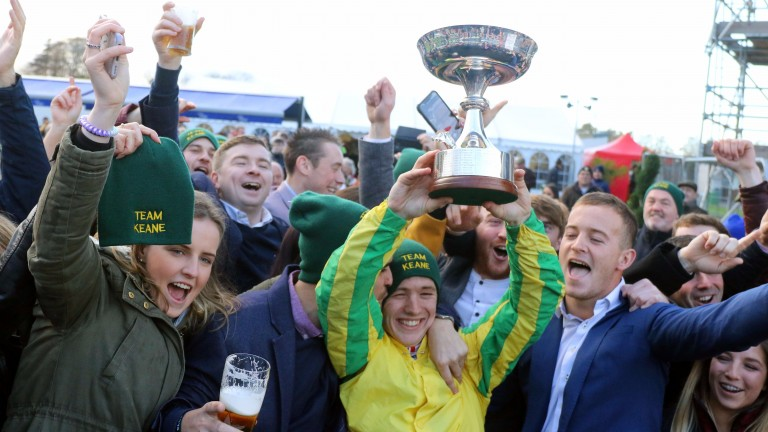 Colin Keane: rode 100 winners in Ireland last season