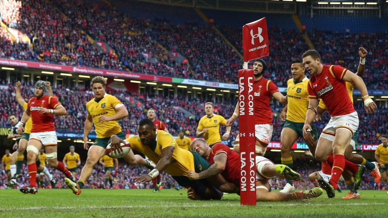 Australia were 32-8 winners in Cardiff in 2016