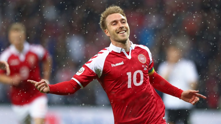 Christian Eriksen has been in wonderful form