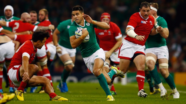 Ireland scrum-half Conor Murray loves to snipe from close range