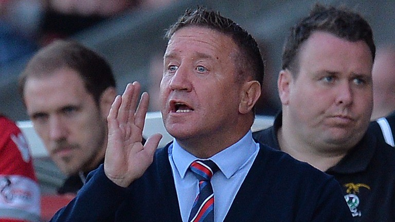 John Robertson is back in charge at Inverness