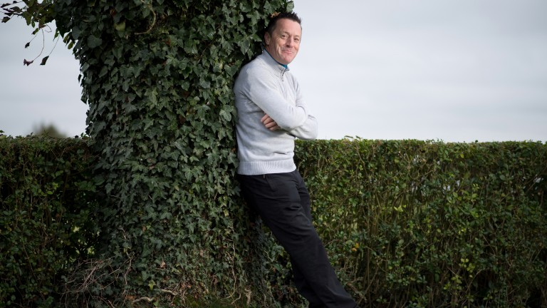 Kieren Fallon in Newmarket: the six-time champion jockey is now riding out for Godolphin