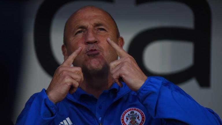 Accrington boss John Coleman