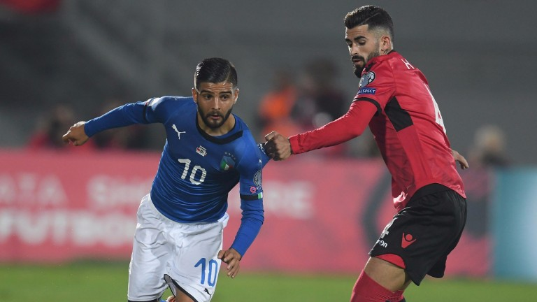Italy's Lorenzo Insigne made a big difference after coming on as a substitute in Stockholm
