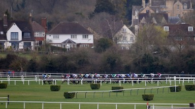 Cheltenham racecourse: recorded rainfall of 12mm over the weekend to leave the ground good to soft
