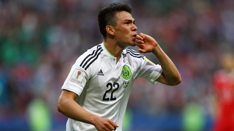 Mexico's rising star Hirving Lozano