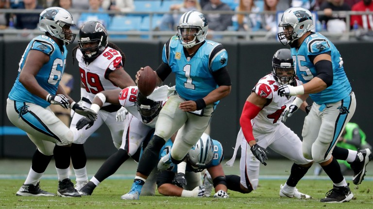 Panthers QB Cam Newton is a potent running and passing threat