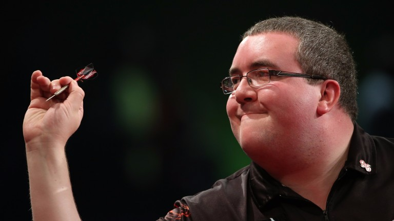 Stephen Bunting has a lot on his plate