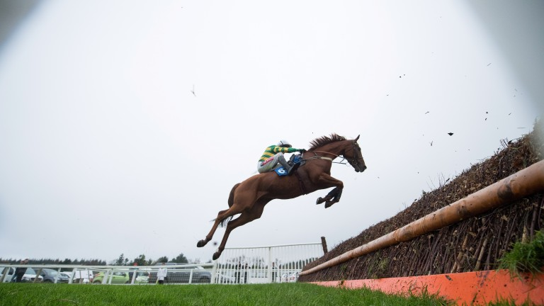 Yanworth: off the mark over fences at Exeter last month