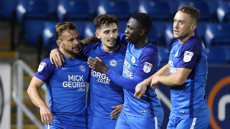 Peterborough could be celebrating a win over Tranmere