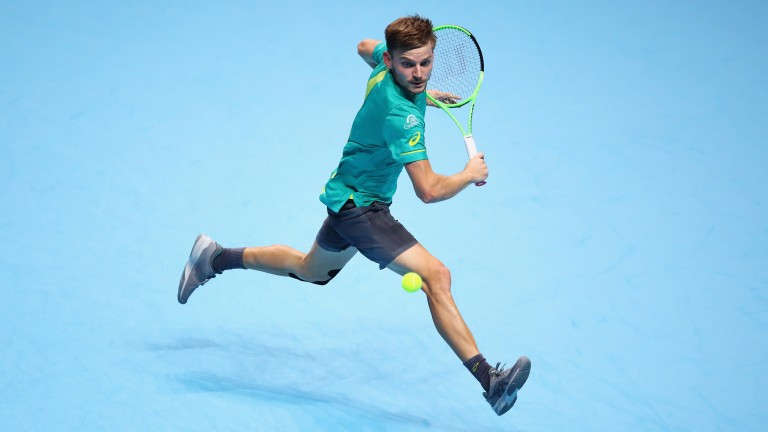 David Goffin is poetry in motion on the way to defeating world number one Rafael Nadal