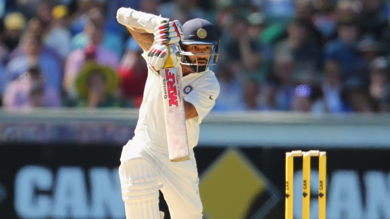 Shikhar Dhawan was the driving force behind India's 3-0 Test series triumph over Sri Lanka in August