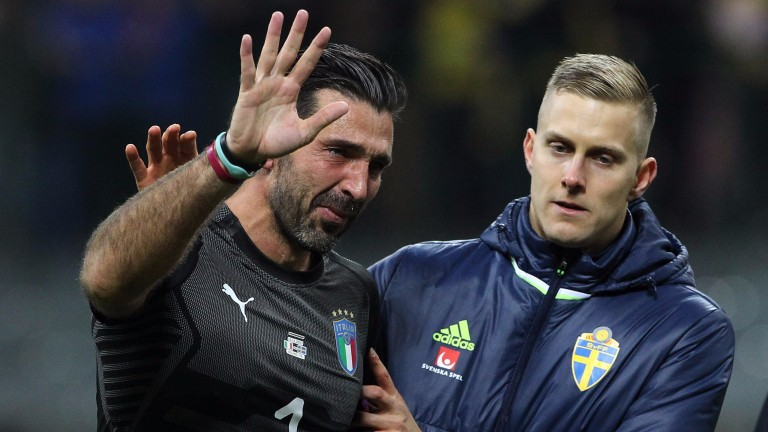 A tearful Gigi Buffon was let down by his teammates' lack of guile