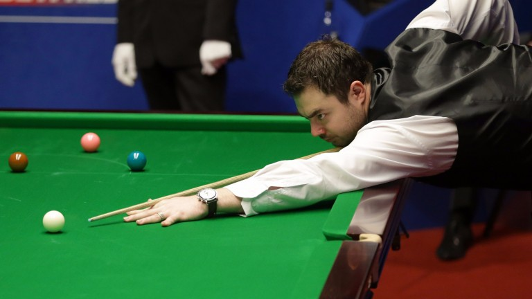 Kurt Maflin produced some blinding scoring against Yu Delu