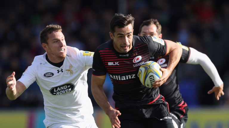 Alex Lozowski came off the bench for England against Argentina and lines up for Saracens at Gloucester