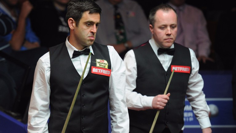 Ronnie O'Sullivan and John Higgins are familiar rivals