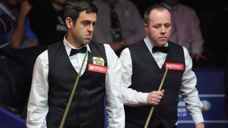 Ronnie O'Sullivan and John Higgins are familiar rivals