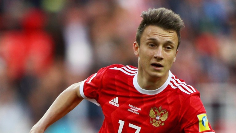 Russia's big hope Aleksandr Golovin