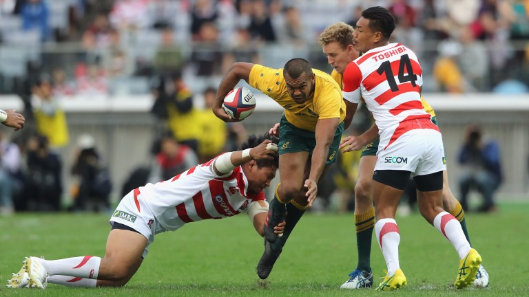 Kurtley Beale is a key player for Australia