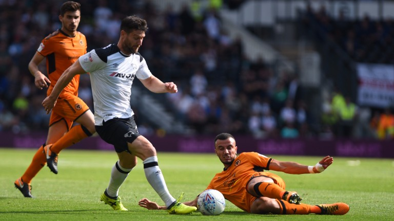 David Nugent could lead the Derby front line at Fulham