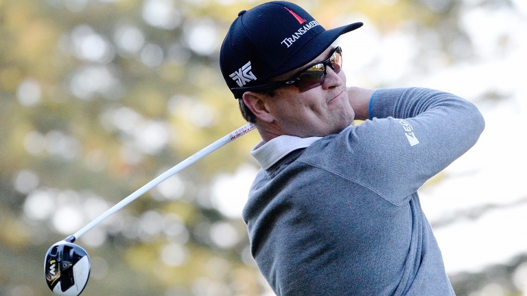 Zach Johnson can launch a comeback in the greensomes