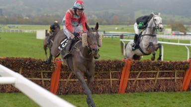 Anteros shows his winning ways in last year's Listed hurdle at Cheltenham
