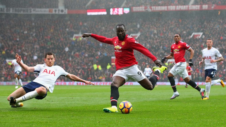 Romelu Lukaku is finding goals hard to come by for United