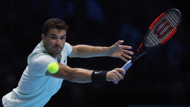 Grigor Dimitrov is aiming to defend his Brisbane title