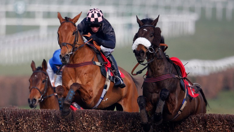 Daryl Jacob riding Mosspark to win at Sandown last year