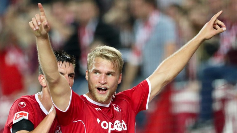 Kaiserslautern's hopes may rest on Sebastian Andersson