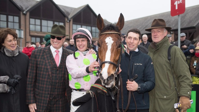 Connections are all smiles after Faugheen's return win in the Morgiana