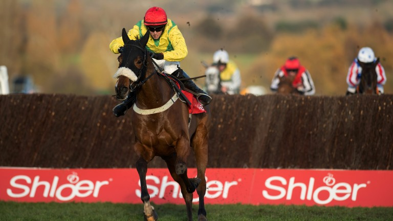 Fox Norton: was among the market leaders for the Ryanair Chase