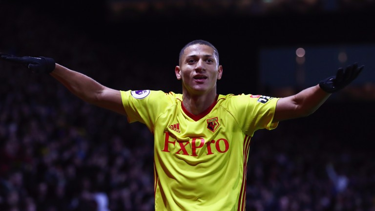 Richarlison scored in Watford's win over West Ham