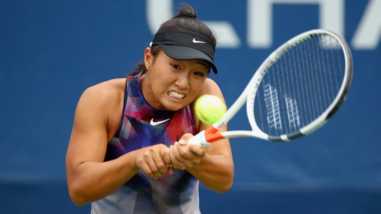 There are high hopes for American teenager Claire Liu