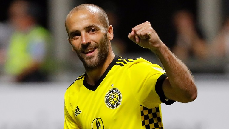 Columbus Crew's Federico Higuain could play a starring role