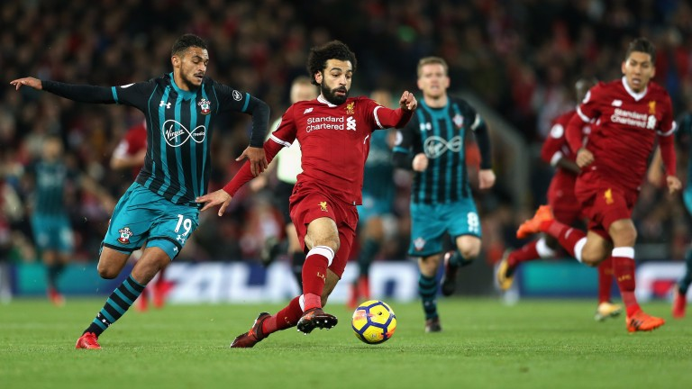 Mohamed Salah is in fantastic form for Liverpool