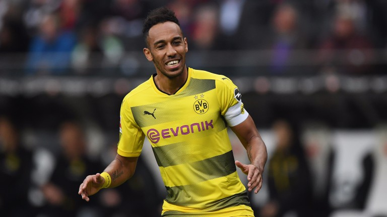 Pierre-Emerick Aubameyang should return to the Dortmund side