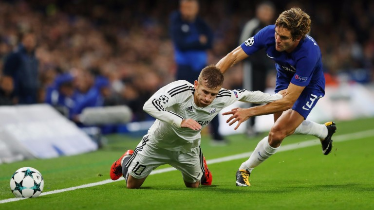 Chelsea brushed aside Qarabag with ease in September