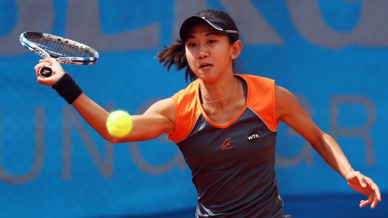 Jia-Jing Lu could get overpowered in round two in Mumbai
