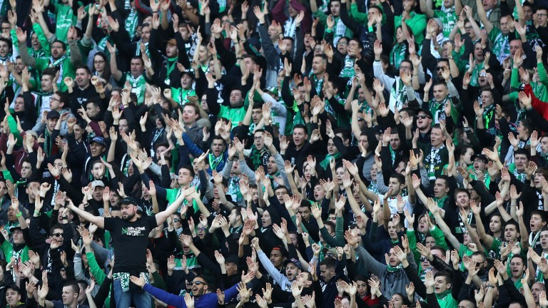 St-Etienne supporters haven't had much to cheer about in recent weeks