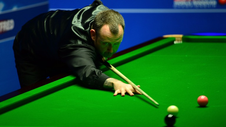 Mark Williams still has plenty of work to do to claim the title