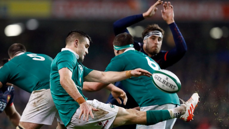 Conor Murray's kicking game from scrum-half is a huge attacking weapon for Ireland