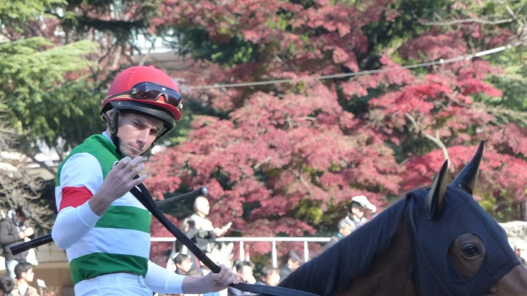 Ryan Moore warmed up for the ride on Idaho in the Japan Cup with a six-timer at Tokyo on Saturday