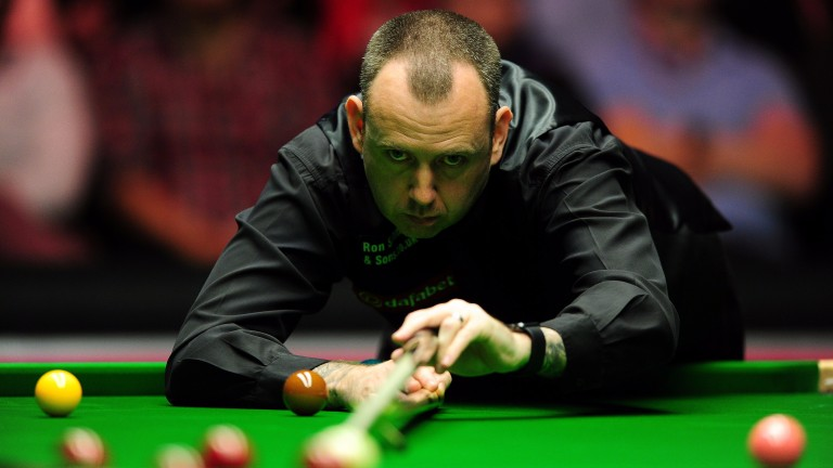 Mark Williams should be able to nail a final berth in Belfast