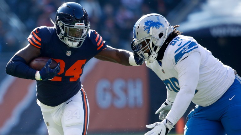 Chicago rusher Jordan Howard could be in for a tough time