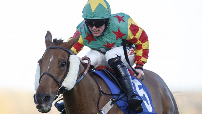 Trevor Whelan and Lil Rockerfeller win the Coral Hurdle