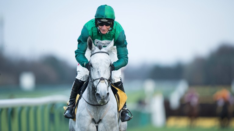 Haydock hero: Bristol De Mai canters to Betfair Chase success in the hands of Daryl Jacob