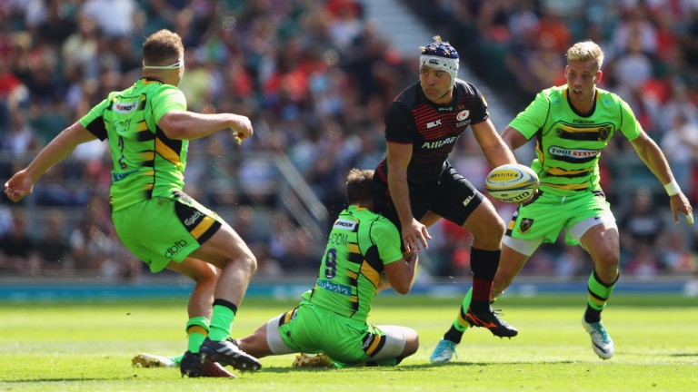Saracens hooker Schalk Brits provides plenty of experience and power